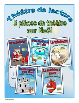 Five French Christmas Plays (French Reader's Theatre)