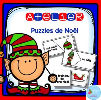 French Christmas Puzzles/ Casse-tête {Mots de Noël}