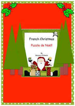 French Christmas Puzzles Noel