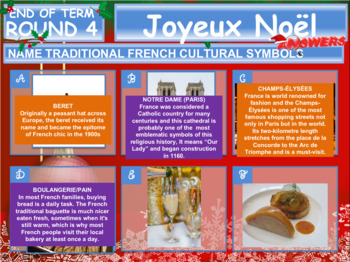French Christmas Quiz