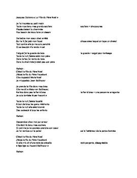 French Christmas Rock Song / Chanson de Noel