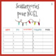 French Christmas Scattergories Game