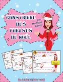 French Christmas Sentence Builder-Construire des phrases de Noël