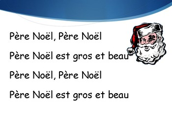 French Christmas Song Powerpoint