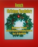 French Christmas Vocabulary Activities