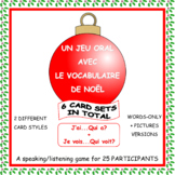 French Christmas Vocabulary Game - Le cercle magique
