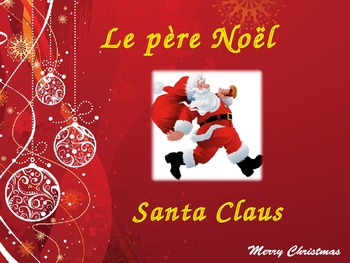 French Christmas Vocabulary PowerPoint
