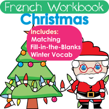"French Christmas Workbook: What is Santa Wearing? (""Porter"" Review!)"