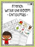 French Christmas Write the Room - Écris la Salle de Noël