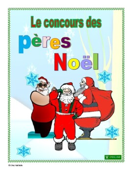 French Christmas Writing Activity (Santa Contest)