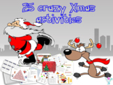French Christmas activities - games printables and interac