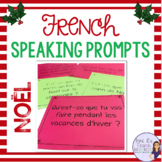 French Christmas and winter speaking activity