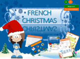 French Christmas, Noël for beginners full lesson PPT and b