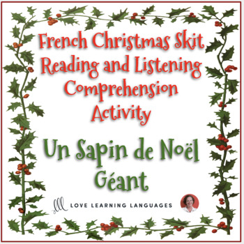 French Christmas skit - Listening and reading comprehension - Noël