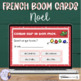 French Christmas task cards BOOM CARDS NOËL