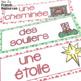 French Christmas word wall/ Mur de mots - Noël