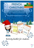 French Christmas activities - Noël student printables for beginners