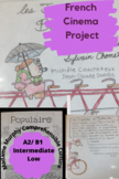 French Cinema Project | Intermediate Low/ Mid/ High | AP French After the Exam!