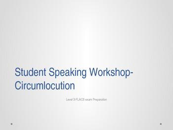 French Circumlocution Speaking Workshop