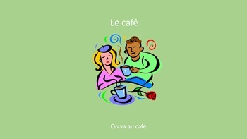 French City Places Vocabulary PowerPoint