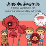 WebQuest   Comprehensible French   JOUR DU SOUVENIR