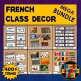 French Classroom Decor Bundle, Class Decorations, Object L
