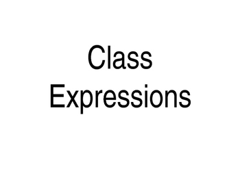 French Class Expressions Powerpoint