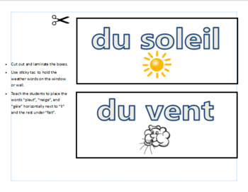 French Classroom Activities Bundle