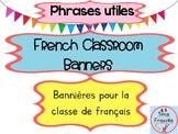 French Classroom Posters/ Affiches pour la classe de français/Phrases utiles