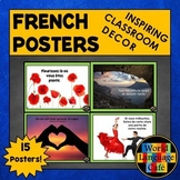 French Classroom Decorations, Inspirational Signs