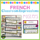 French Classroom Expression Posters