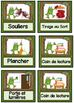 French Classroom Job Cards - Frog Theme