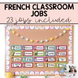 French Classroom Jobs / Les responsabilités de classe (Horizontal Version)