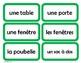 French Classroom Labels - Étiquettes pour la classe (Green)