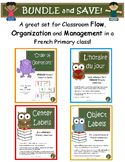 French Classroom Management, Flow and Organization BUNDLE