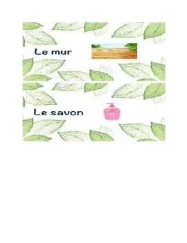 French Classroom Object Labels - en français
