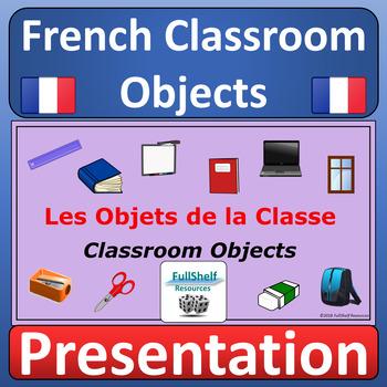 French Classroom Vocabulary Presentation