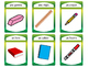 French Classroom Objects Vocabulary Presentation, Card Gam