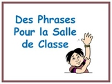 French Classroom Phrases Poster Set