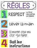 French Classroom Rules