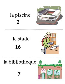 French City Place Vocabulary Scavenger Hunt Activity