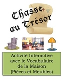 French Room and Furniture Vocabulary Scavenger Hunt Activity