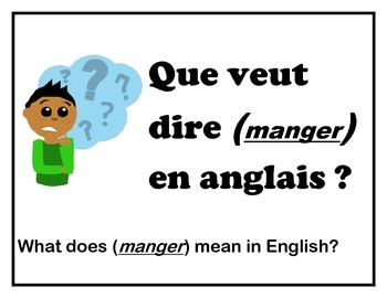 French Classroom Signs