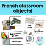 French Classroom objects - games and flashcards - Les objets de la classe