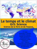 French: Climat et temps, Gr.5, Science, 177 slides