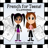 French Clothing Words Clothes - Les Vêtements en Français