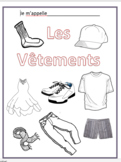 French Clothing Booklet