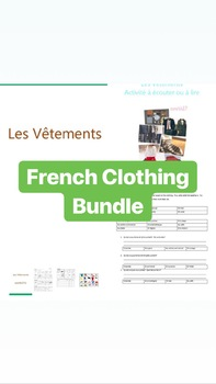 French Clothing Bundle