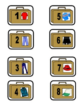 French Clothing-Les Vêtements Dans Ma Valise Game