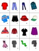 French Clothing-Les Vêtements Vocabulary Mini Student Card